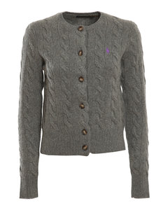 Cashmere wool blend cardigan