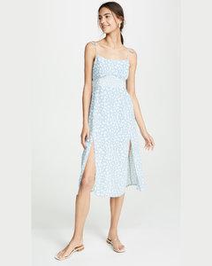 蝴蝶元素襯裙式連衣裙