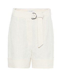 Mytheresa发售 — 亚麻和棉质短裤