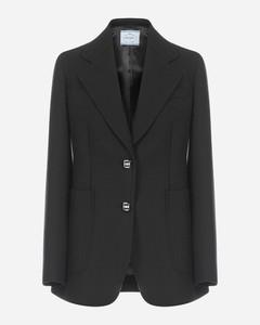 Tailored wool blazer