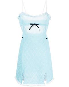 Womens White Floral Print Wrap Cotton Midi Skirt