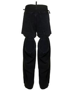 Larina boat-neck crepe midi dress