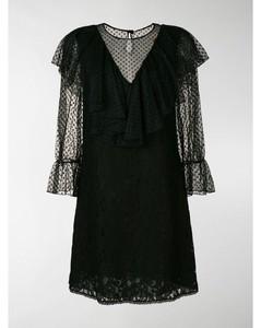 lace-detail dress