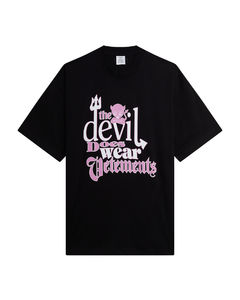 Black chain-embellished stretch-wool trousers