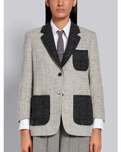 羊毛贴袋夹克