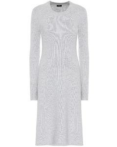 羊绒混纺中长连衣裙