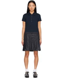 罗纹针织紧身短裤