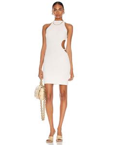 Mila Dress in White