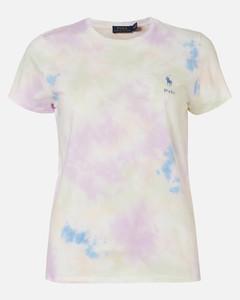 Women's Painted T-Shirt - Pastel