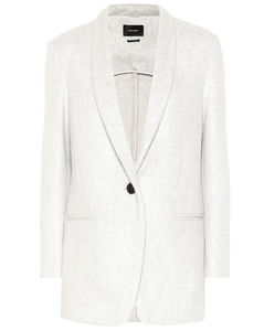 Felicie羊毛和羊绒西装式外套