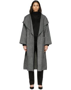 黑色&白色Annecy大衣