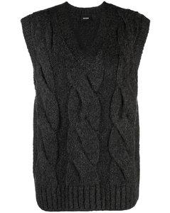 Tartan layered jumper