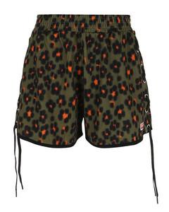 MICHAEL MICHAEL KORS Women's Mini Lilly Tier Dress - Black/Evergreen