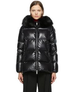 黑色Laiche羽绒夹克
