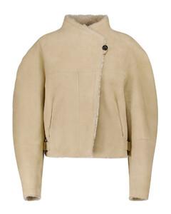 Acacina suede and shearling jacket