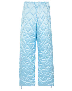 High-rise quilted skipants