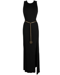 Down Jacket With Logo Band
