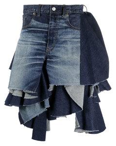 Henni padded hooded ski jacket