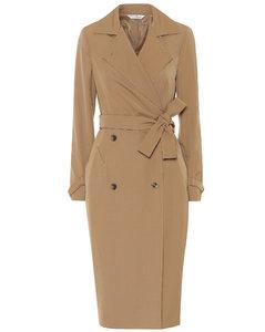 Lucia wool gabardine midi dress