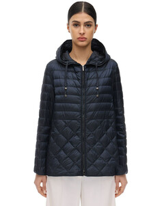 The Cube Hooded Down Jacket
