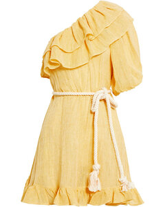 Cotton and polyester dress