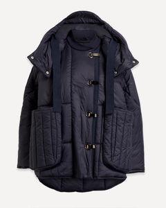 White Mid-length pleated skirt