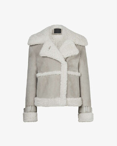 Farley suede and shearling jacket