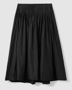Alexa taupe cape-effect cotton trench coat
