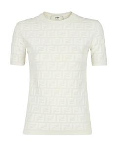 Camel faux fur-trimmed wool jacket