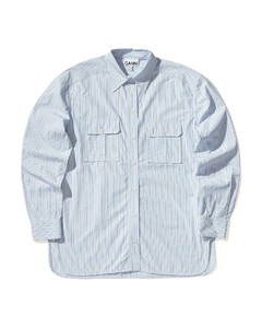 Chest pocket stripe shirt