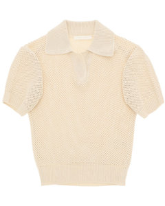T-shirts And Polo Shirts Low Classic for Women Beige
