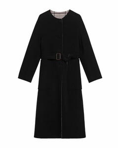 Reversible Virgin Wool Coat