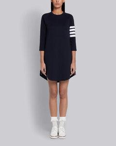 4條紋連衣裙