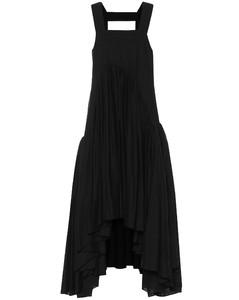 Paula's Ibiza亚麻混纺中长连衣裙