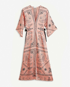 Galy graphic-print woven maxi dress