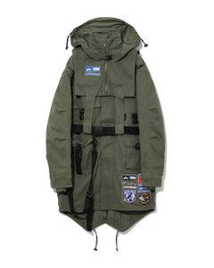 X Alpha Industries Utility parka coat