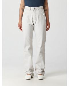 Woman Silk-satin Tapered Pants