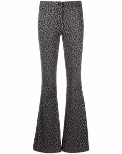 Woman Silk-satin Tapered Pants