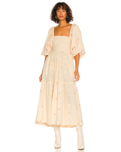 WADDED SILK AND COTTON COAT