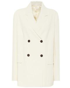 弹力绉纱西装式外套