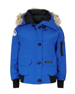 PBI Chilliwack Fur-Trim Bomber Jacket