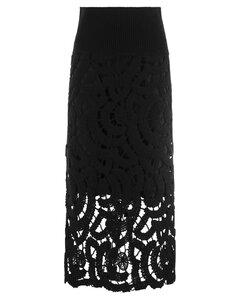 Cotton blend asymmetric hoodie