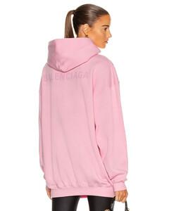 Medium Fit Hoodie in Pink