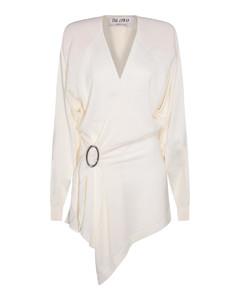 High rise monogram jeans