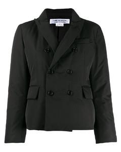 双排扣衬垫西装夹克