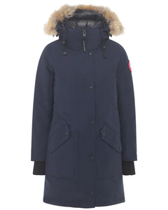 Ellesmere Down Parka W/ Fur Trim