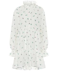 Floral cotton minidress