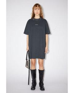 棉质T恤式连衣裙