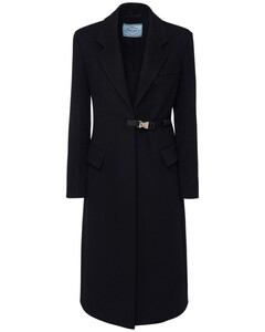 Wool Cloth Coat W/ Buckle