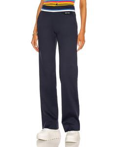 Lux Fleece Trouser in Navy
